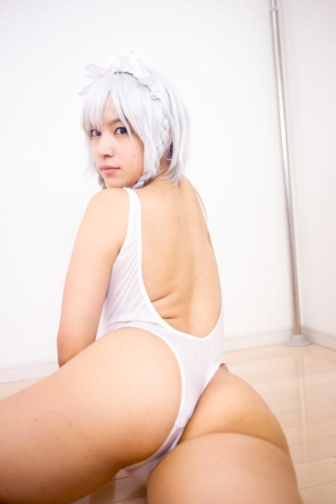 [SEVEN DOLLS]黒髪ぱっつんパイパン美少女レイヤー 咲夜2[314P]